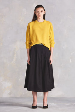 Kowtow Out Of Sight Crew Yellow Kowtow is available in Brisbane Queensland Australia at Violent Green Albert Street store