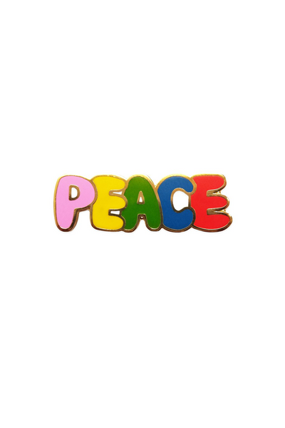 Georgia Perry Peace Enamel Lapel Pin Georgia Perry is available in Brisbane Queensland Australia at Violent Green Store #georgiaperry #lapelpins #pins #greetingcards #brisbaneshopping #georgiaperrystockist #georgiaperrydealer #georgiaperrybrisbane #georgiaperryqueensland #georgiaperryaustralia #totebag #georgiaperrypins