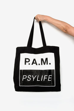 Perks And Mini (P.A.M.) Chaos Theory Tote Bag Black