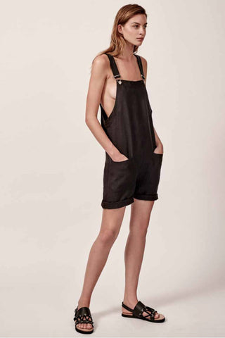 Matin Pocket Overalls Black