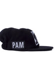 PERKS AND MINI P.A.M. Psilocybe Patch Hat black