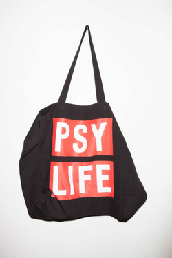 Perks And Mini (P.A.M.) Psy Life Tote Bag Black Perks And Mini aka P.A.M. is available in Brisbane Queensland Australia at Violent Green Albert Street store. #P.A.M. #PERKSANDMINI #PAM #PAMSTOCKIST #PERKSANDMINI #P.A.M.STOCKIST #PERKSANDMINIDEALER #STREETWEAR #AUSTRALIANDESIGNERS #PERKSANDMINIAUSTRALIA #PERKSANDMINIBRISBANE #PERKSANDMINIQUEENSLAND #PAMAUSTRLAIA #PAMQUEENSLAND #PAMBRISBANE #P.A.M.AUSTRALIA #P.A.MQUEENSLAND #P.A.M.BRISBANE #PERSPECTIVE