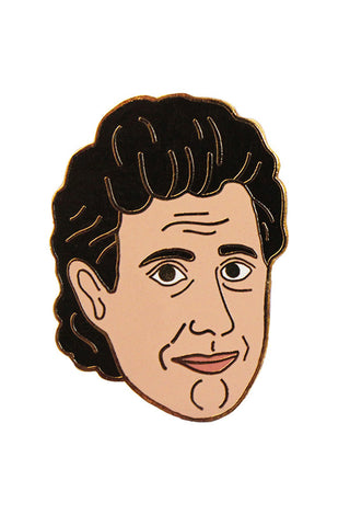 GEORGIA PERRY SEINFELD PIN available in ENAMEL/GOLD