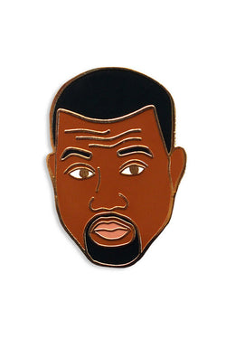 GEORGIA PERRY KANYE PIN available in ENAMEL/GOLD