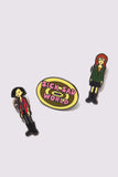 Lazy Oaf x Daria Pin Pack