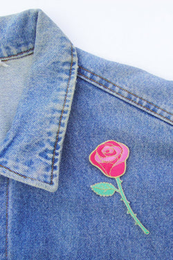 Coucou Suzette Rose Patch