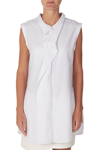 COCURATA S/L SHIRT DRESS available in WHITE
