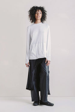 Mathys Sinclair Willoughby Long Sleeve Optic White