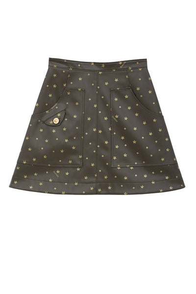 SRETSIS Star Pocket Skirt Rocker Black