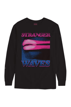 Surf Is Dead Stranger Waves Long Sleeve t-shirt Surf is Dead is available in Brisbane Queensland Australia at Violent Green Albert Street store
