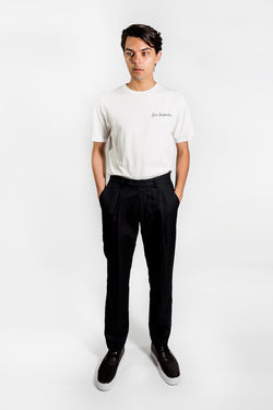 Saturday Surf Nyc Gordy Pleated Dress Pants Black