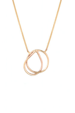 Natalie Marie Lona Necklace Gold