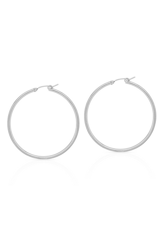 Petite Grand Sol Hoops 50mm Silver Petite Grand is available in Brisbane Queensland Australia at Violent Green Albert Street store #petitegrand #petitegrandjewellery #petitegrandaustralia #petitegrandbrisbane #petitegrandqueensland #petitegranddealer #petitegrandstockist #earrings #studearrings #petitegrandearrings #petitegrandrings #petitegrandpendant #handmadejewellery #jewellery #ring #finering