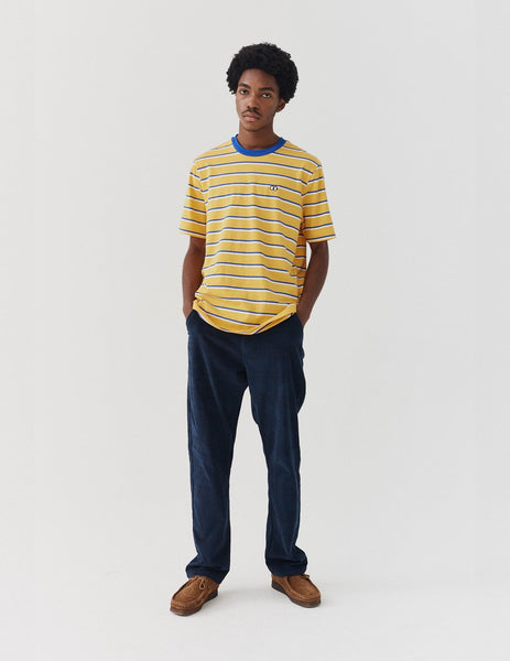 Lazy Oaf Stripey Yellow T-shirt - Yellow