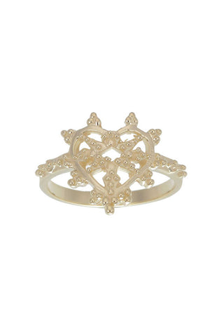 ZOE AND MORGAN SWEETIE RING available in GOLD