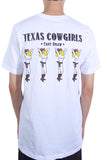 Life Is Connected Texas Cowgirls Tee White