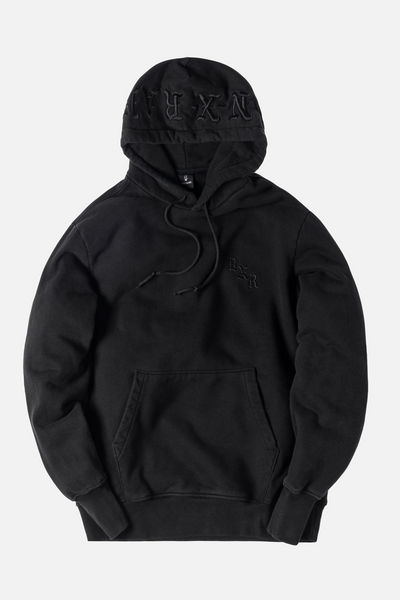 Born x Raised BXR Tonal Hoodie - Black