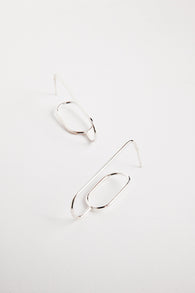 Two Hills Earring No.22 - Silver
