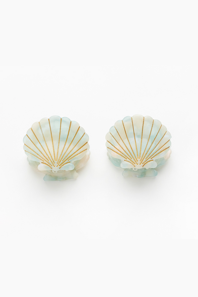 Valet Ursula Shell Clips - Mint
