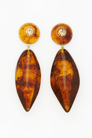 Valet Alyssa Earrings - Tortoise