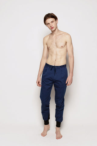 VANISHING ELEPHANT CUFF PANT(menswear) available in NAVY