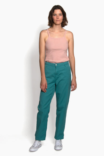 Carhartt W' Pierce Pant - Soft Teal Rinsed