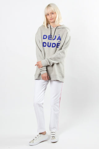 Etre Cecile Deja Dude Oversize Hoodie Etre Cecile is available in Brisbane Queensland Australia at Violent Green Albert Street store #etrececile #etrececilestockist #etrececiledealer #etrececileclothing #etrececiletee #etreccecilepant #etrececileskirt #etrececiledenim #etrececileshirt #womenswear #parisienne #parisiennechic