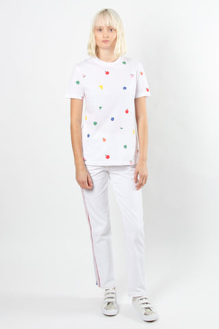 Etre Cecile Fruits All Over T-shirt Etre Cecile is available in Brisbane Queensland Australia at Violent Green Albert Street store #etrececile #etrececilestockist #etrececiledealer #etrececileclothing #etrececiletee #etreccecilepant #etrececileskirt #etrececiledenim #etrececileshirt #womenswear #parisienne #parisiennechic