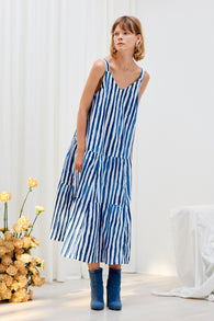 Kowtow Element Dress - Wave Print