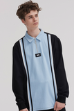 Lazy Oaf Colour Block Rugby Jersey
