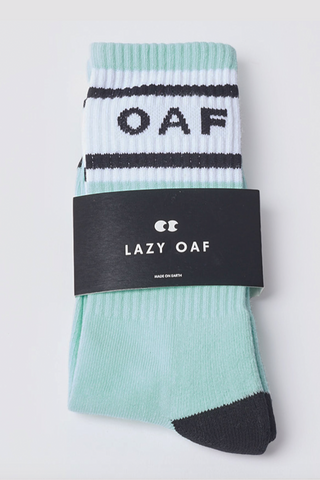 Lazy Oaf Oaf Mint Socks