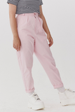 Lazy Oaf LO Pink Peggy Trousers - Pink