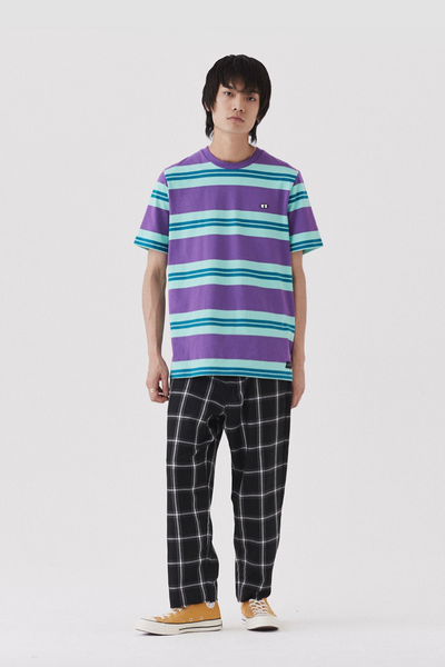 Lazy Oaf Stripey Eyes Short Sleeve T-shirt