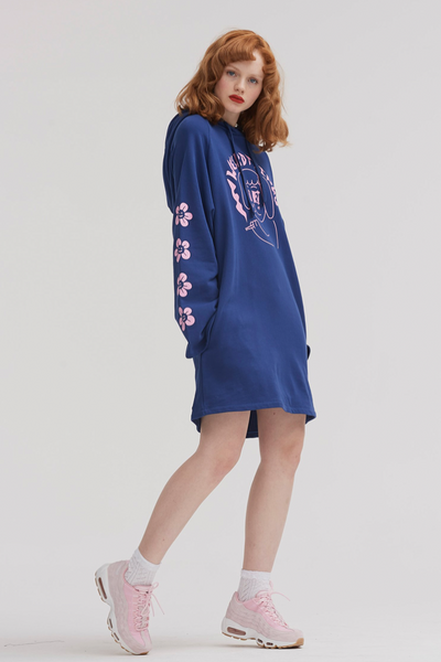 Lazy Oaf Weird Things Hoodie Dress