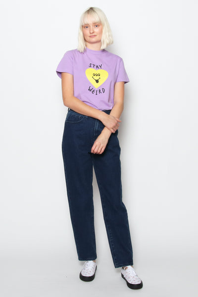 Lazy Oaf LO Blue Mom Jean available in Blue Lazy Oaf is available in Brisbane Queensland Australia at Violent Green Albert Street store #lazyoaf #lazyoafdealer #lazyoafxdrmartens #lazyoafdocmartens #drmartensxlazyoaf #lazyoafstockist #lazyoafaustralia #lazyoafbrisbane #lazyoafqueensland #lazyoafclothing #lazyoafshoes #lazyoafstore #lazyoafbettyboop