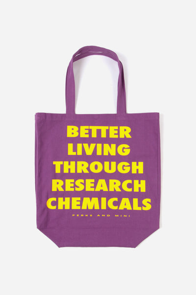 Perks And Mini (P.A.M) B.L.T.R.C. Tote Bag - Purple