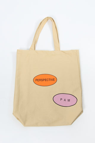 Perks And Mini (P.A.M.) Perspective Tote Bag Sand Perks And Mini aka P.A.M. is available in Brisbane Queensland Australia at Violent Green Albert Street store. #P.A.M. #PERKSANDMINI #PAM #PAMSTOCKIST #PERKSANDMINI #P.A.M.STOCKIST #PERKSANDMINIDEALER #STREETWEAR #AUSTRALIANDESIGNERS #PERKSANDMINIAUSTRALIA #PERKSANDMINIBRISBANE #PERKSANDMINIQUEENSLAND #PAMAUSTRLAIA #PAMQUEENSLAND #PAMBRISBANE #P.A.M.AUSTRALIA #P.A.MQUEENSLAND #P.A.M.BRISBANE #PERSPECTIVE