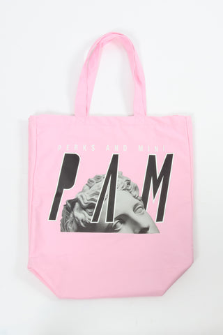 Perks And Mini (P.A.M.) Psy Life Tote Bag Pink Perks And Mini aka P.A.M. is available in Brisbane Queensland Australia at Violent Green Albert Street store. #P.A.M. #PERKSANDMINI #PAM #PAMSTOCKIST #PERKSANDMINI #P.A.M.STOCKIST #PERKSANDMINIDEALER #STREETWEAR #AUSTRALIANDESIGNERS #PERKSANDMINIAUSTRALIA #PERKSANDMINIBRISBANE #PERKSANDMINIQUEENSLAND #PAMAUSTRLAIA #PAMQUEENSLAND #PAMBRISBANE #P.A.M.AUSTRALIA #P.A.MQUEENSLAND #P.A.M.BRISBANE #PERSPECTIVE