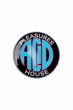 Pleasures Acid House Enamel Pin - Black