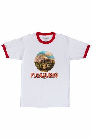 Pleasures Killfornia Ringer T-shirt - White