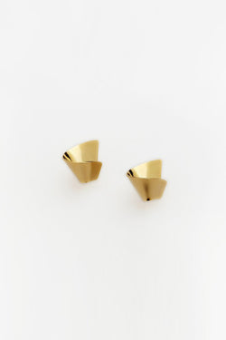 Reliquia Halfway Earrings - Gold