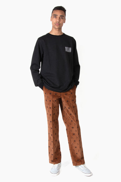 Soulland Billy Corduroy Pant - Brown