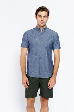 VANISHING ELEPHANT Jonah S/S Shirt Holiday