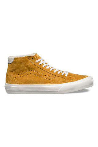Vans Court Mid DX Pig Suede (womens) Amber Gold