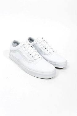 Vans Canvas Old Skool True White
