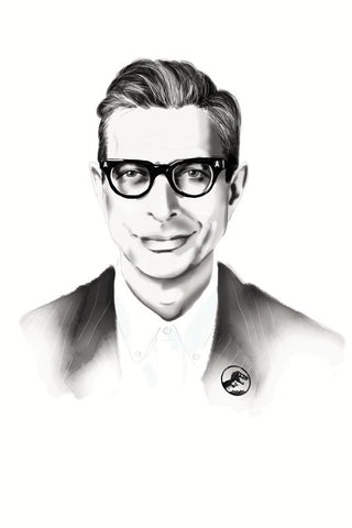 AND LIZZY Jeff Goldblum Print