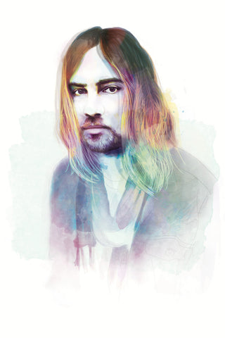 AND LIZZY Kevin Parker Print