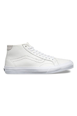 VANS Leather Court Mid DX White