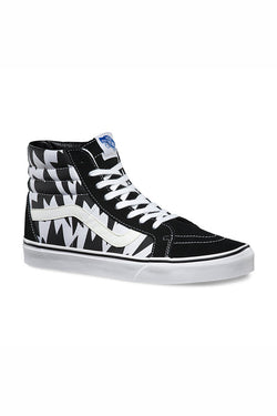 VANS x ELEY KISHIMOTO SK8 HI REISSUE available in FLASH WHITE BLACK