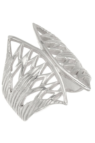ZOE AND MORGAN BELLE RING available in SILVER